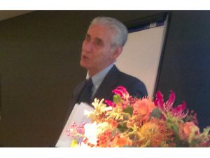 Professor Stefano Rodota giving his Namur Award speech