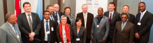 Panellists meet at the October 2013 infoethics conference